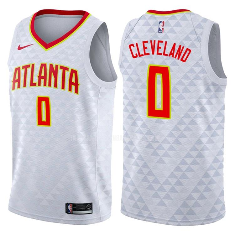 camiseta atlanta hawks antonius cleveland 0 blanco association hombres