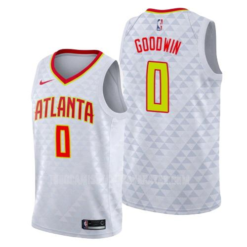 camiseta atlanta hawks brandon goodwin 0 blanco association hombres