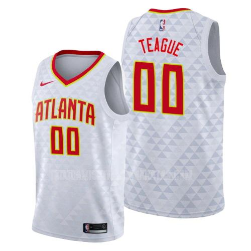 camiseta atlanta hawks jeff teague 0 blanco association hombres 2019-20