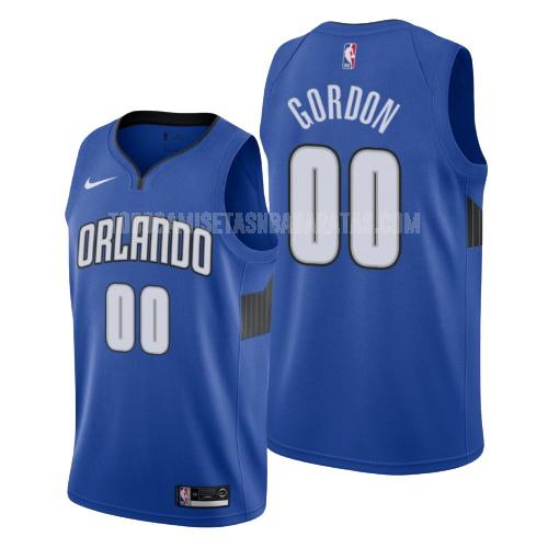 camiseta orlando magic aaron gordon 0 azul statement hombres 2019-20