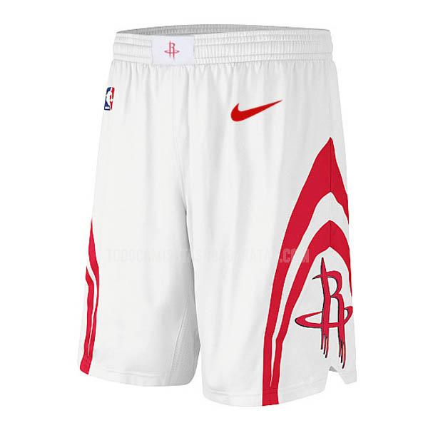 pantalones cortos nba houston rockets blanco clásico