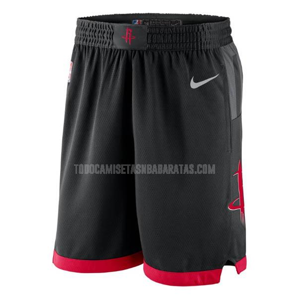 pantalones cortos nba houston rockets negro