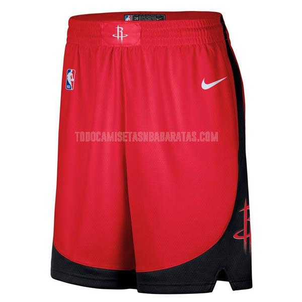 pantalones cortos nba houston rockets rojo
