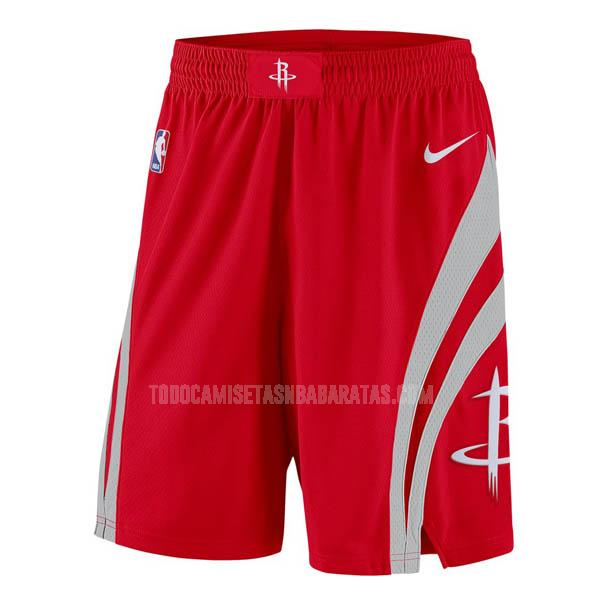 pantalones cortos nba houston rockets rojo clásico